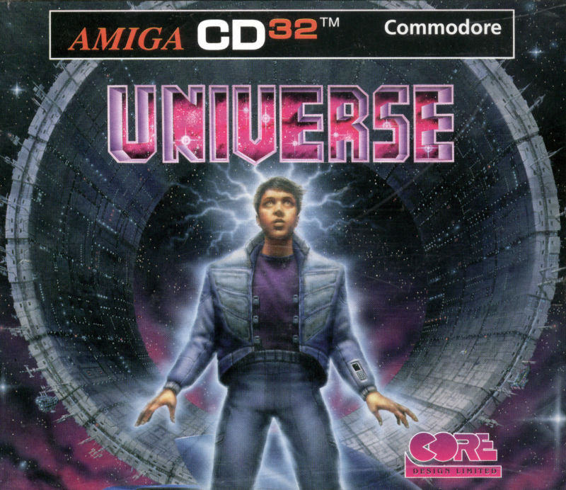 Universe Amiga CD32 Front Cover