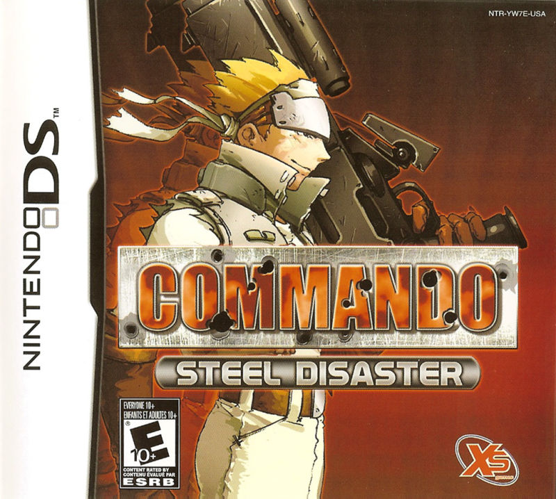 Commando: Steel Disaster Nintendo DS Front Cover
