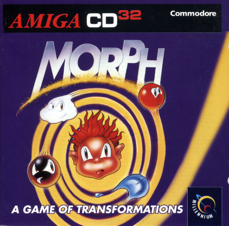 Morph Amiga CD32 Front Cover