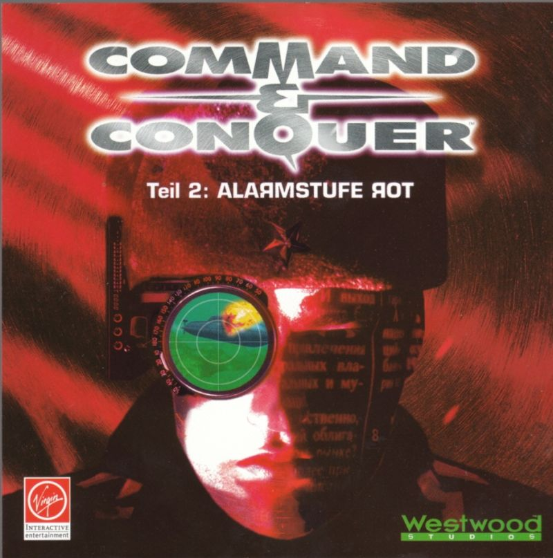 Command & Conquer: Red Alert DOS Other Jewel Case - Front