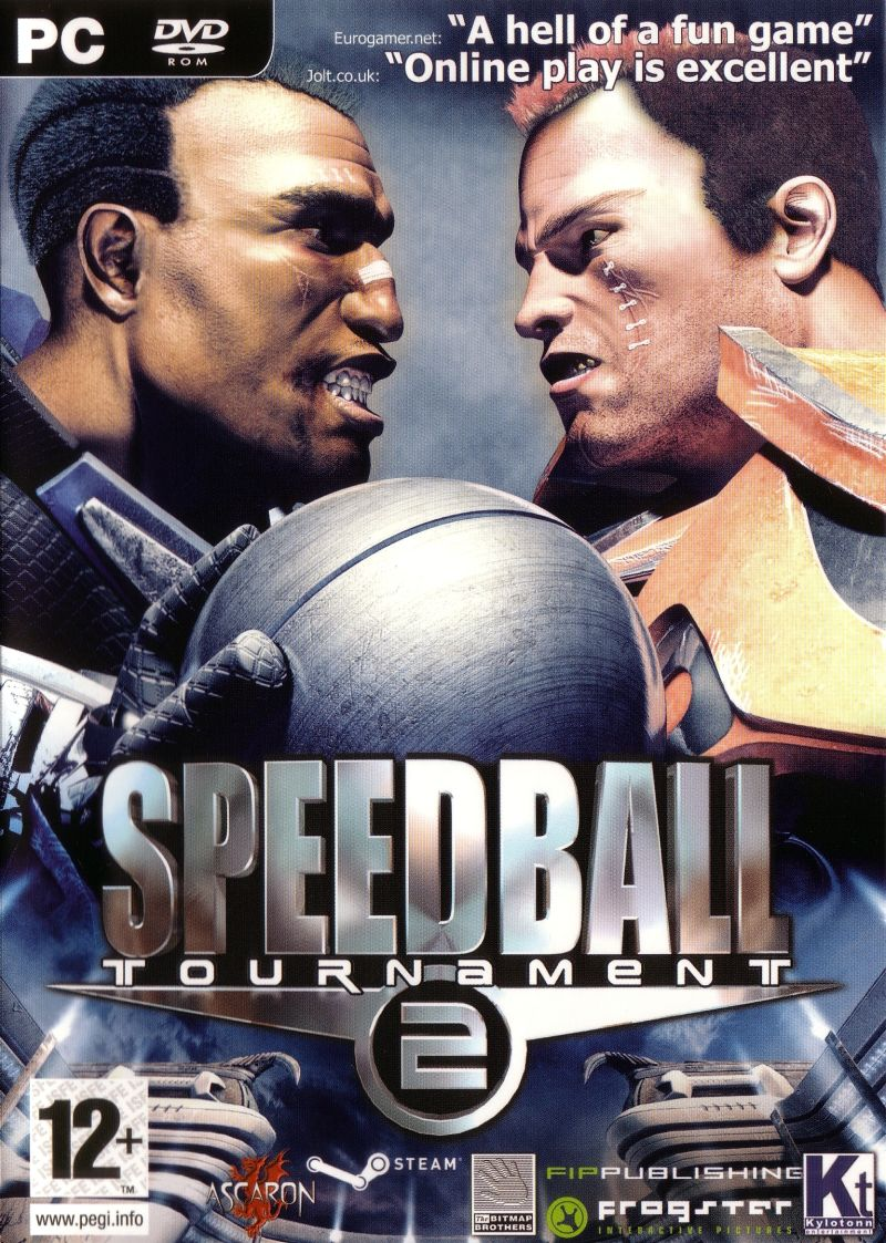 Speedball 2: Tournament Windows Front Cover