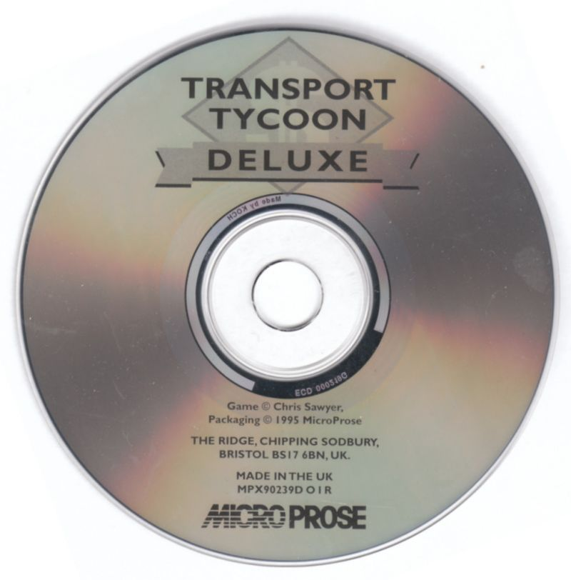 Transport Tycoon Deluxe DOS Media