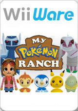 My Pokémon Ranch Wii Front Cover