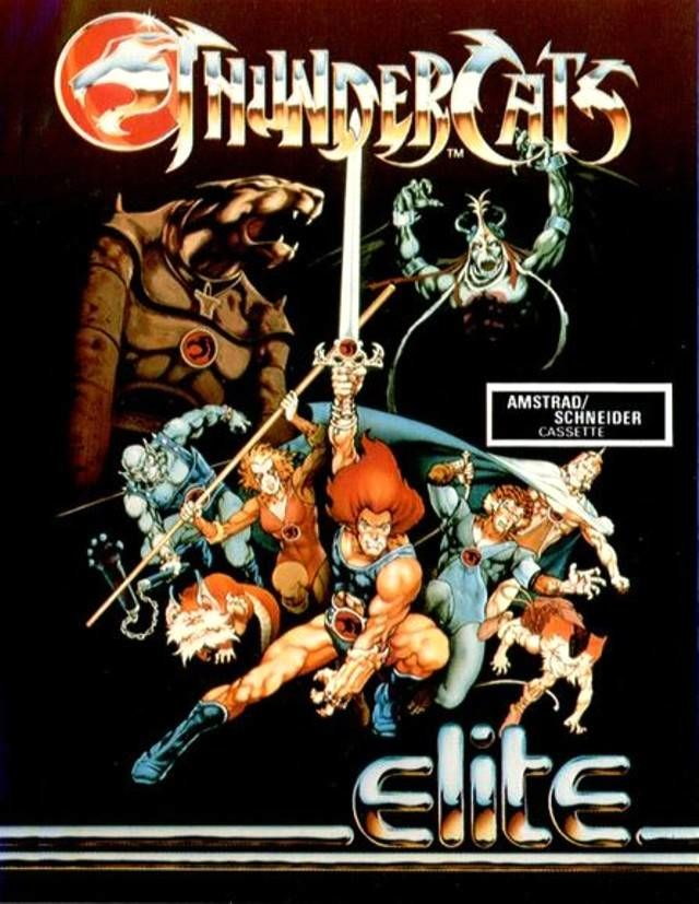 Thundercats Amstrad CPC Front Cover