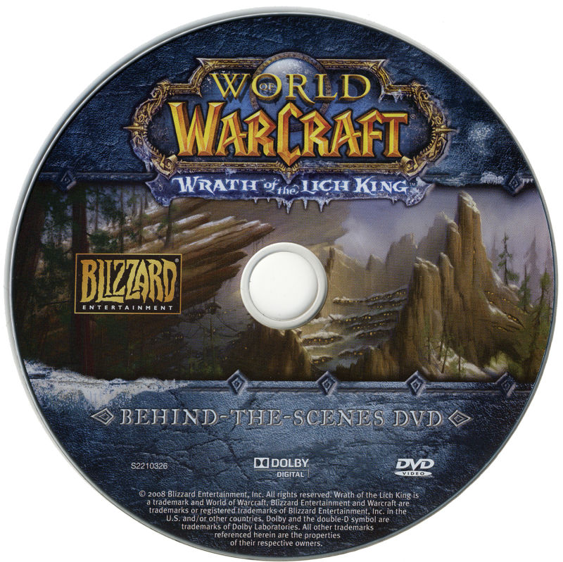 World of Warcraft: Wrath of the Lich King (Collector's Edition) Macintosh Media Making-of DVD