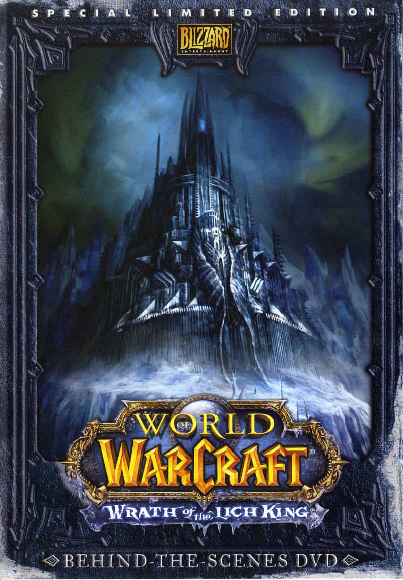 World of Warcraft: Wrath of the Lich King (Collector's Edition) Macintosh Other Keep Case - Front (Making-of)