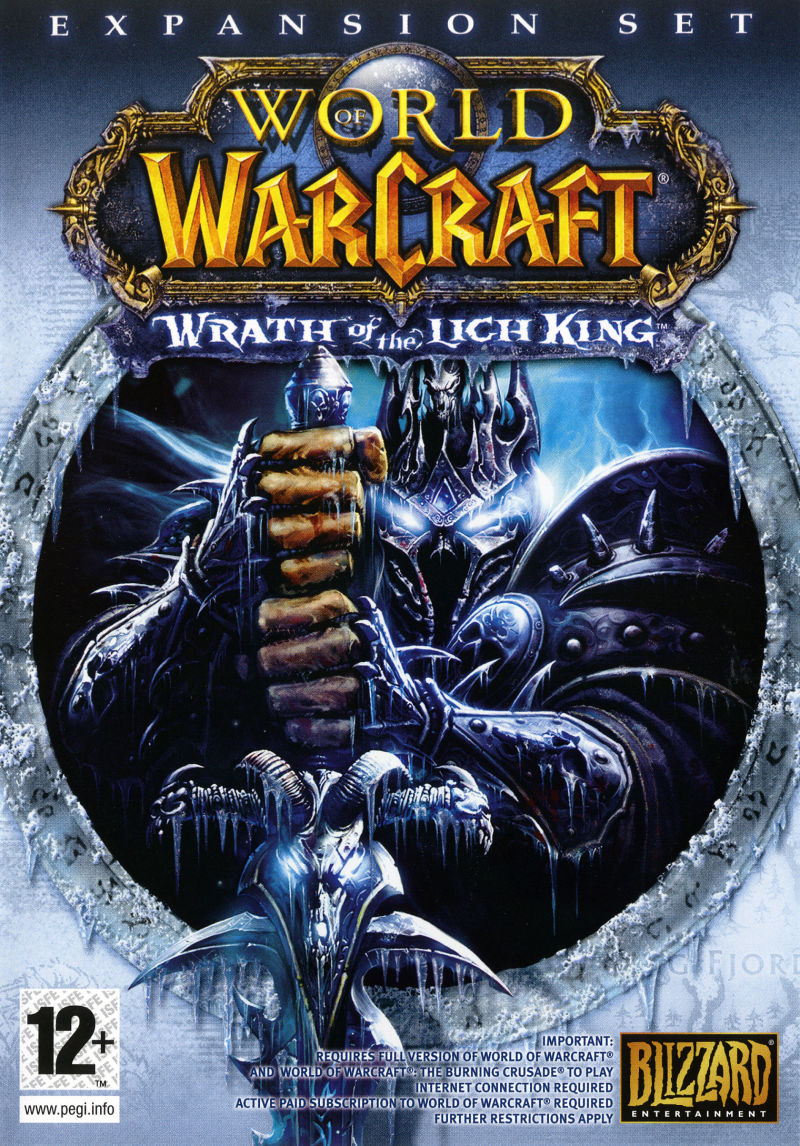 World of Warcraft: Wrath of the Lich King (Collector's Edition) Macintosh Other Keep Case - Front (Game)