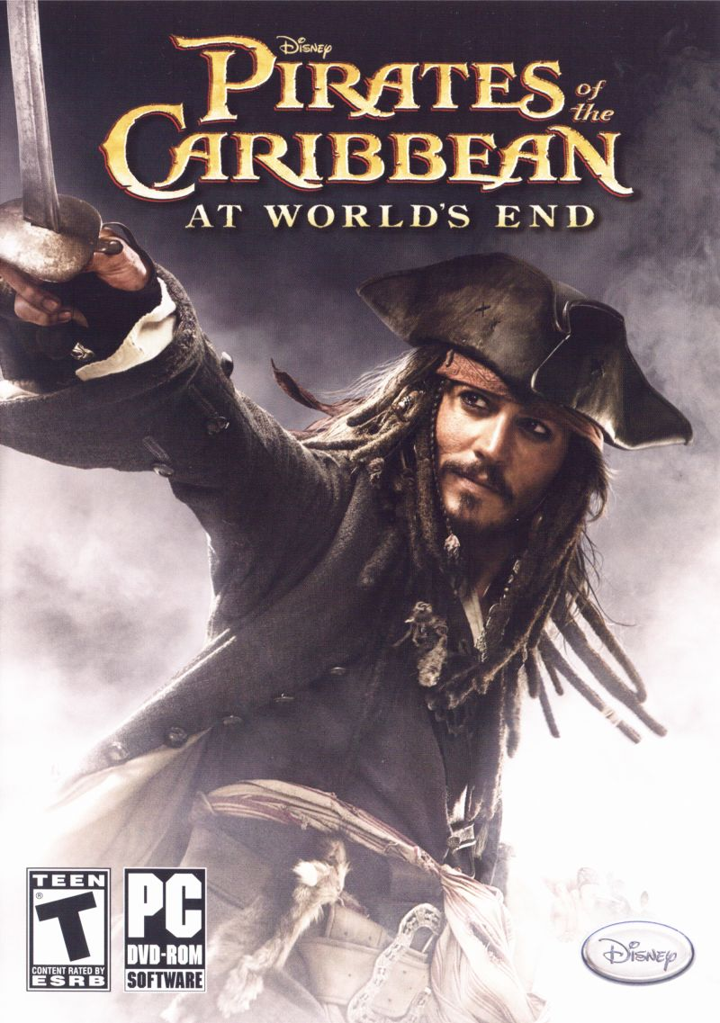 Disney Pirates of the Caribbean: At World's End Windows Front Cover