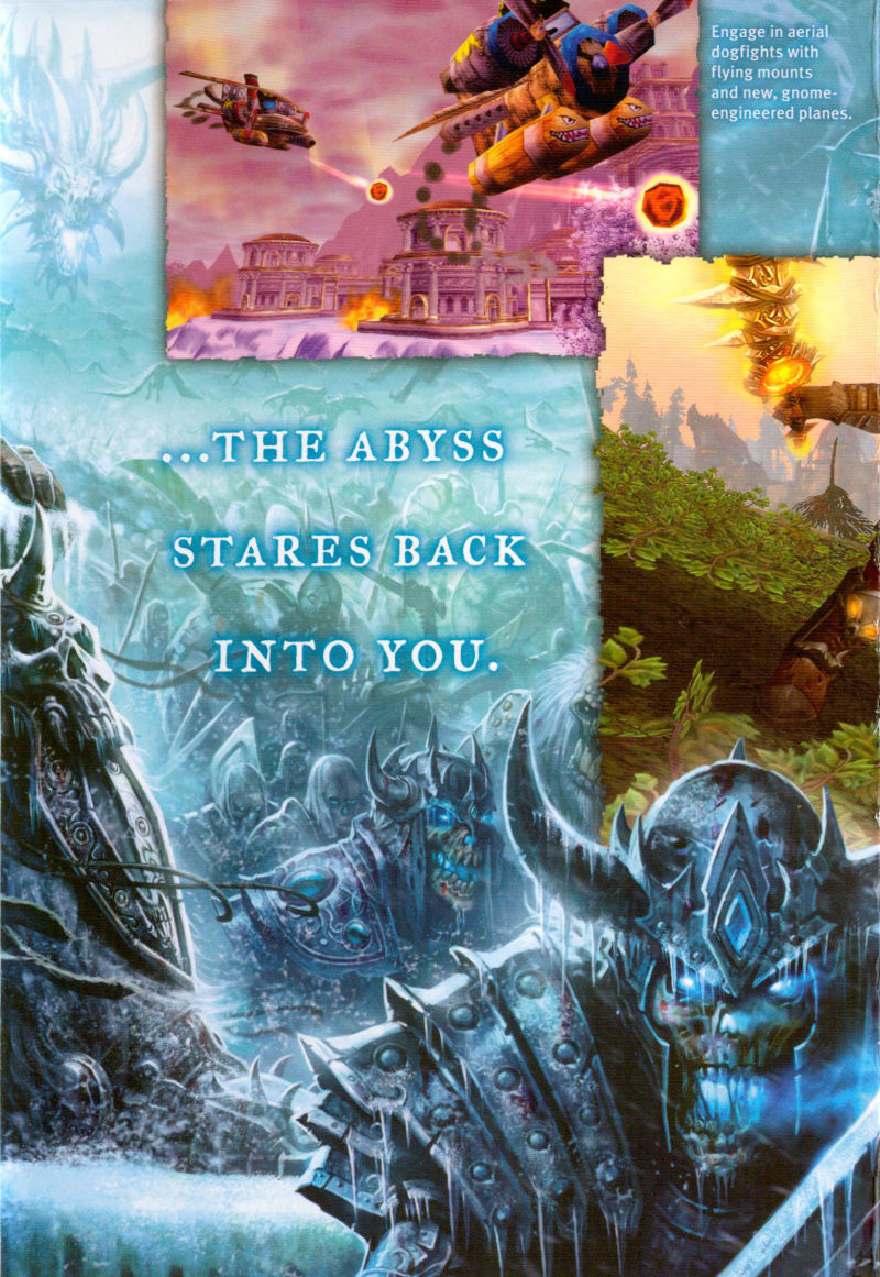 World of Warcraft: Wrath of the Lich King Macintosh Inside Cover Middle Flap