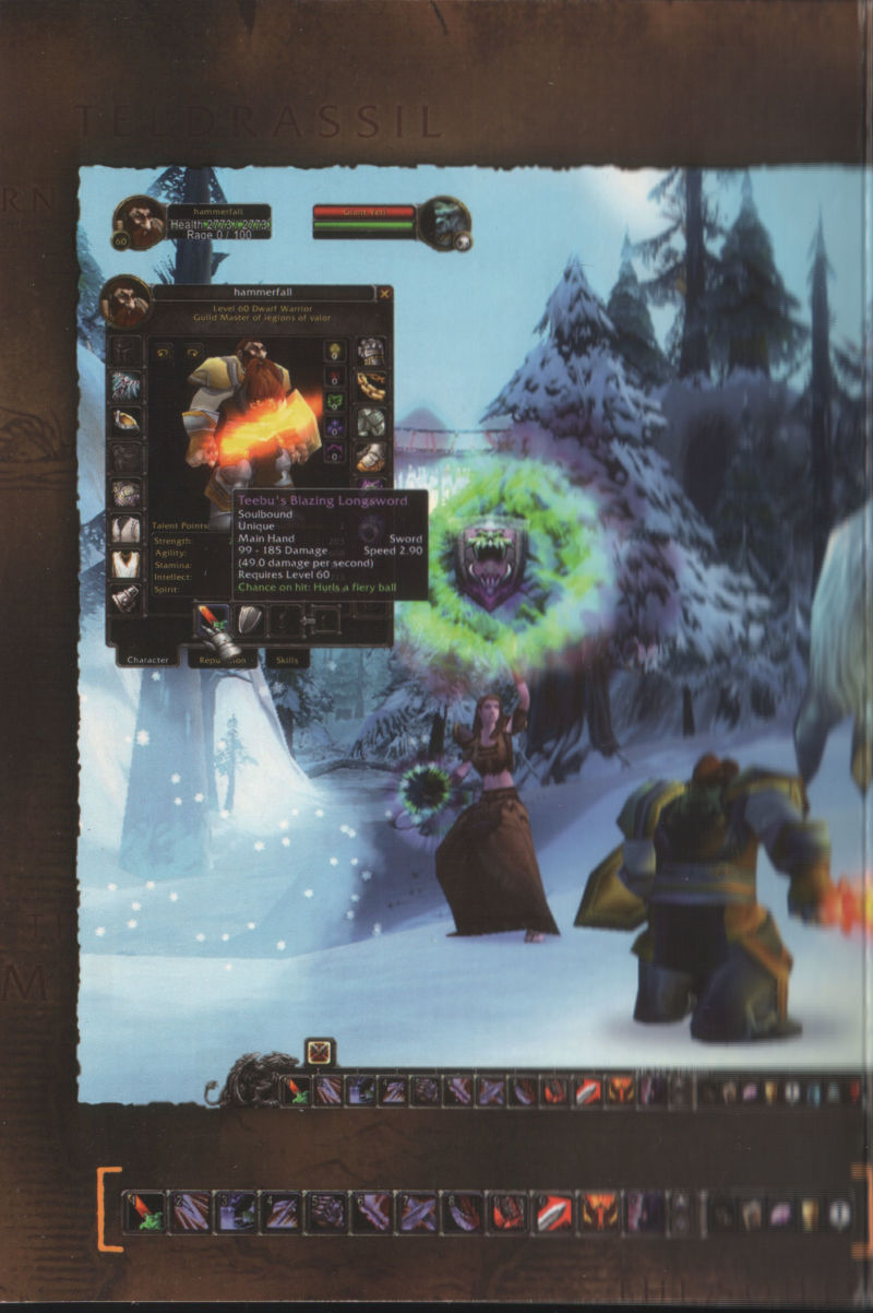 World of Warcraft Macintosh Other Inside Cover  Inside Flap #3