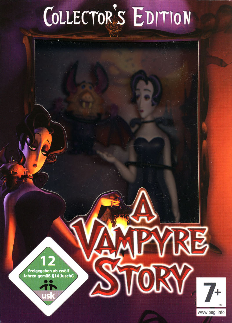 A Vampyre Story (Collector's Edition) Windows Front Cover