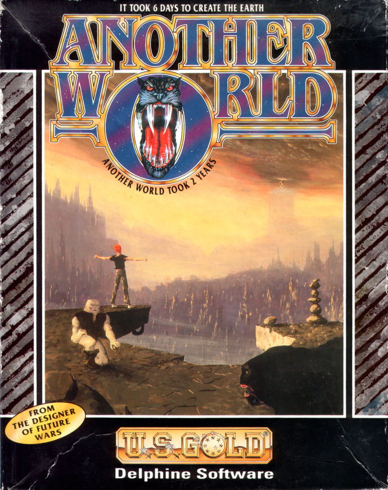 Out of This World Atari ST Front Cover