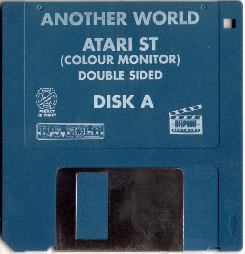 Out of This World Atari ST Media Disc 1 of 2