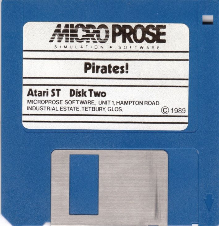 Sid Meier's Pirates! Atari ST Media Disk 2/2