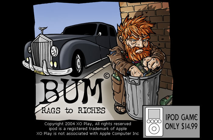 Bum: Rags to Riches iPod Classic Front Cover