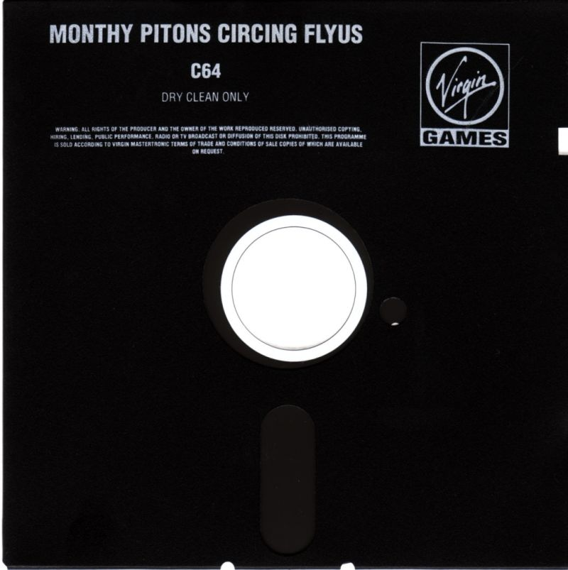 Monty Python's Flying Circus Commodore 64 Media