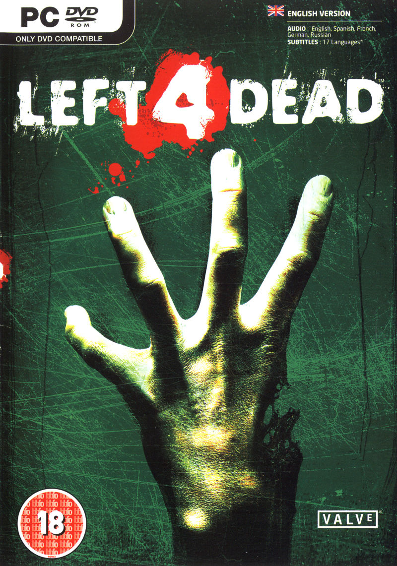 Left 4 Dead Windows Front Cover