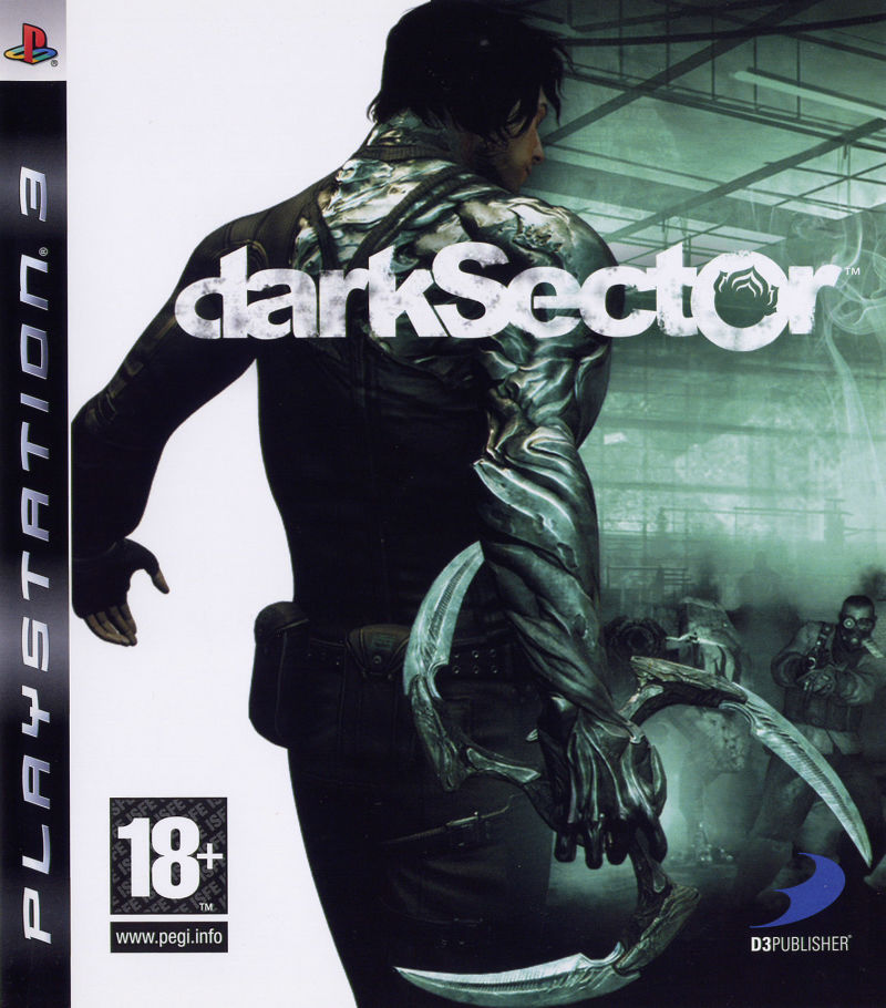 Dark Sector PlayStation 3 Front Cover