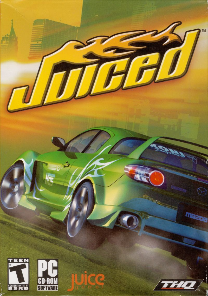 Juiced Windows Front Cover