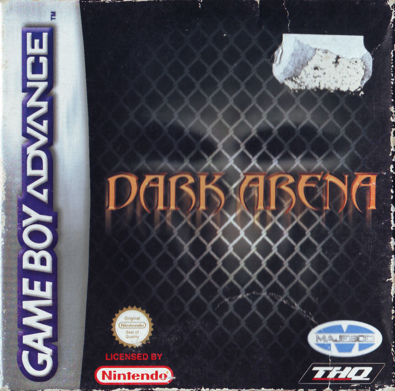 Dark Arena Game Boy Advance Front Cover