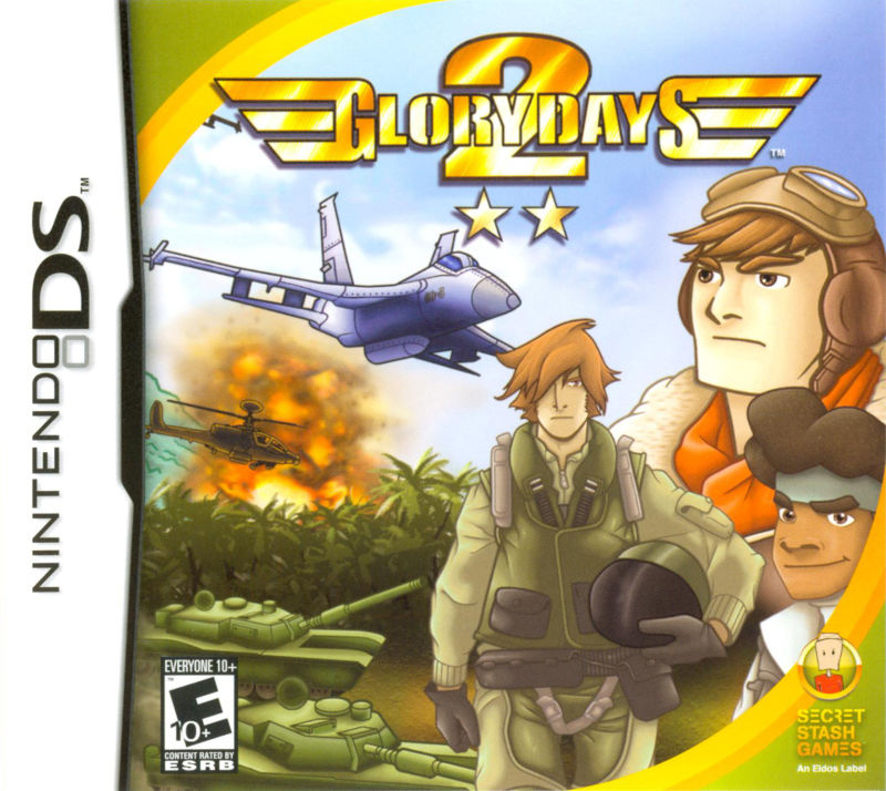 Glory Days 2 Nintendo DS Front Cover