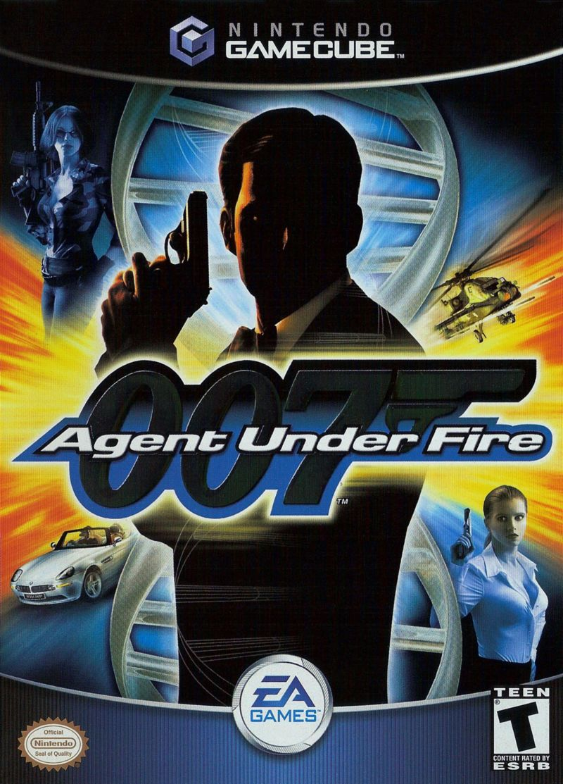 007: Agent Under Fire GameCube Front Cover