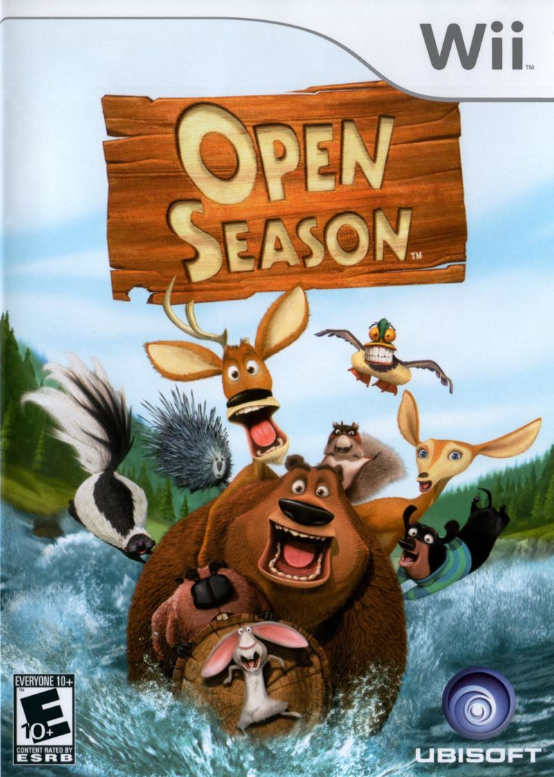 Open Season Wii Front Cover
