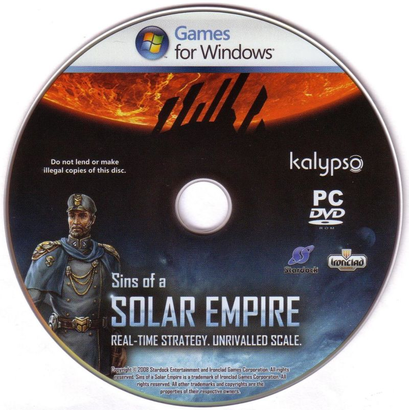 Sins of a Solar Empire Windows Media