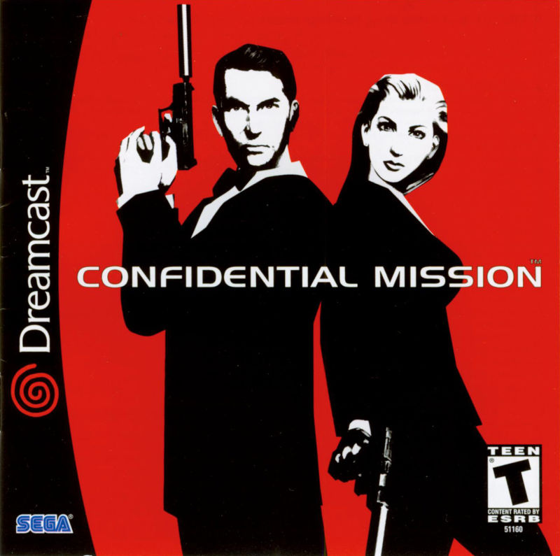 Confidential Mission Dreamcast Front Cover