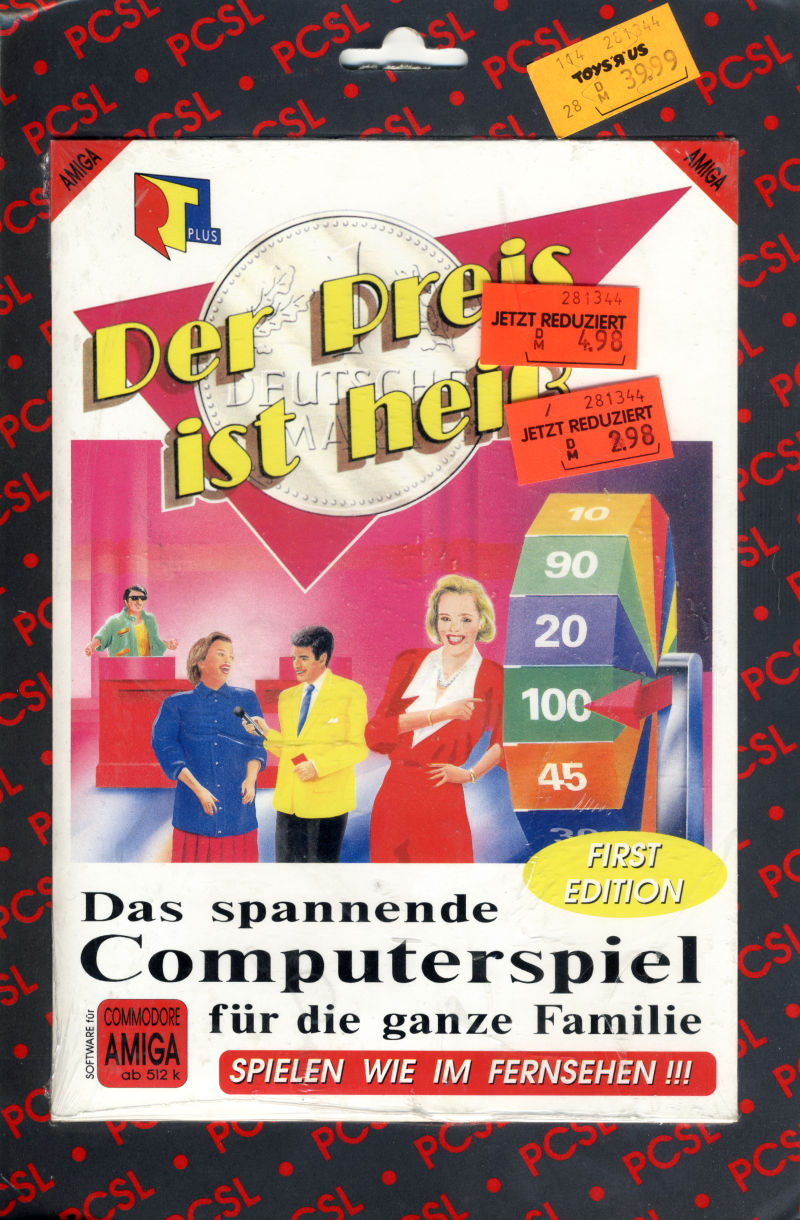 The Price is Right Amiga Front Cover
