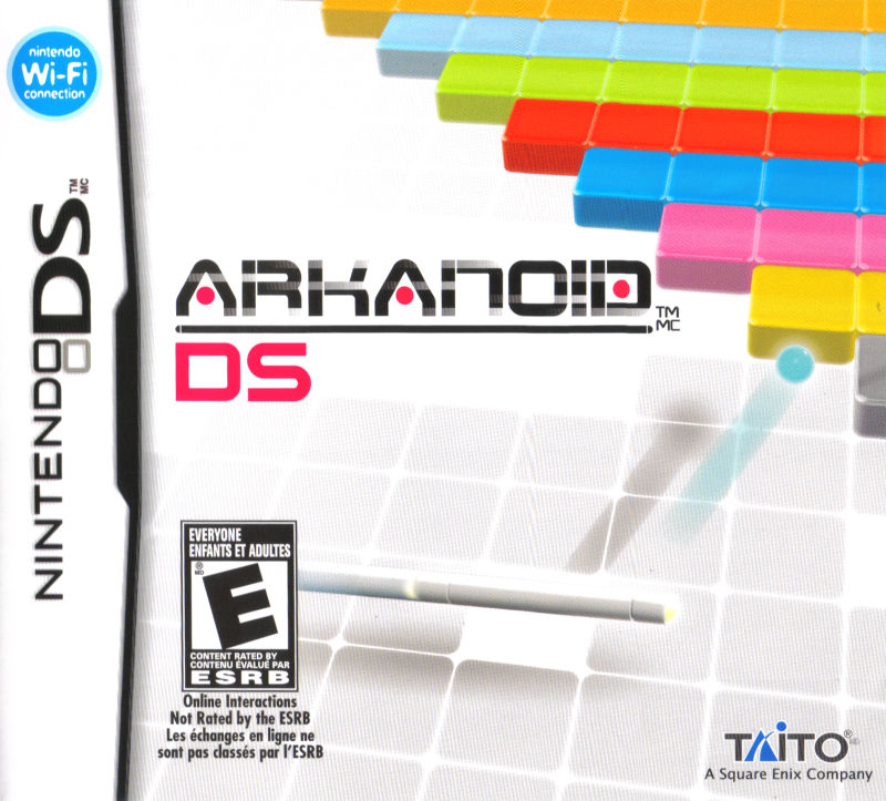 Arkanoid DS Nintendo DS Front Cover