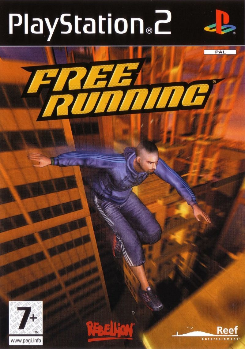 Free Running PlayStation 2 Front Cover