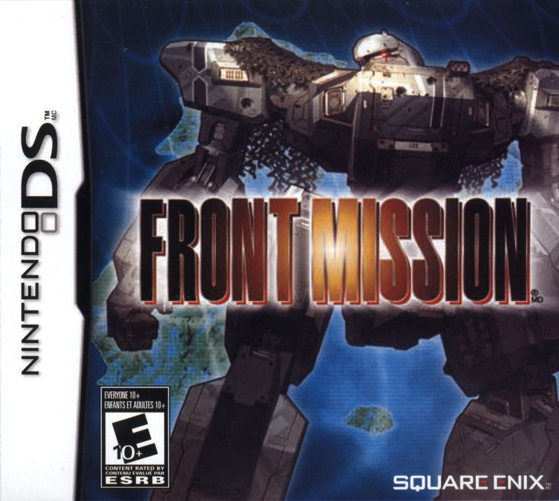 Front Mission Nintendo DS Front Cover