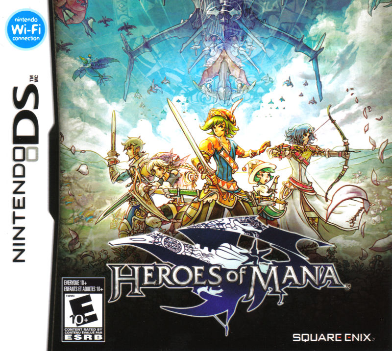 Heroes of Mana Nintendo DS Front Cover