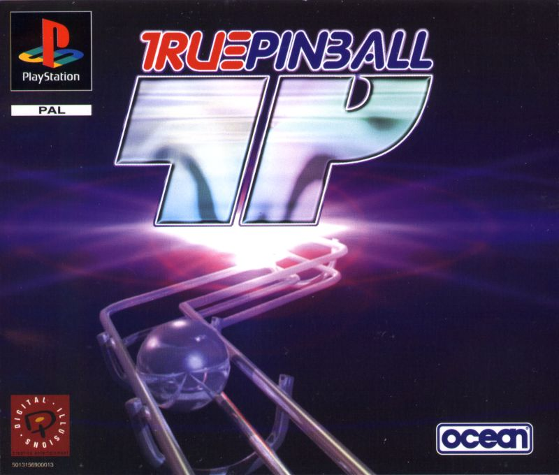 True Pinball PlayStation Front Cover