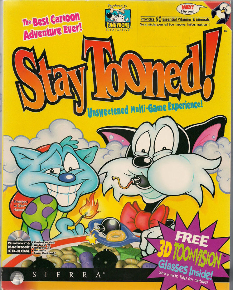 Stay Tooned! Macintosh Front Cover