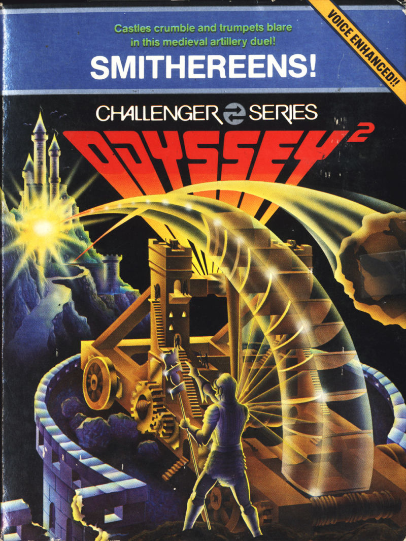 Smithereens! Odyssey 2 Front Cover