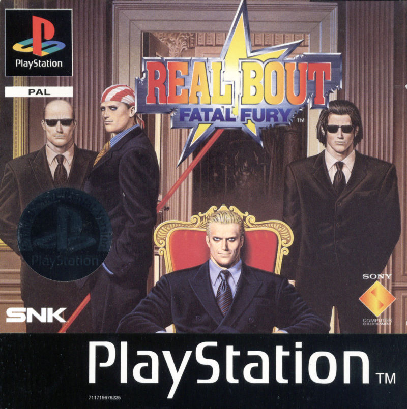 Real Bout Fatal Fury PlayStation Front Cover