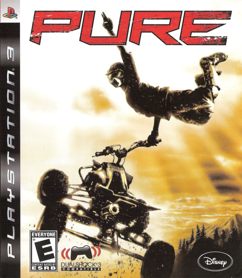 Pure PlayStation 3 Front Cover