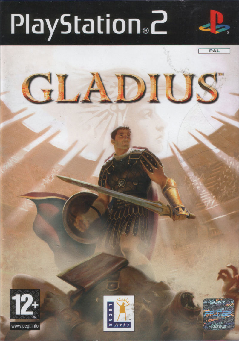 Gladius PlayStation 2 Front Cover