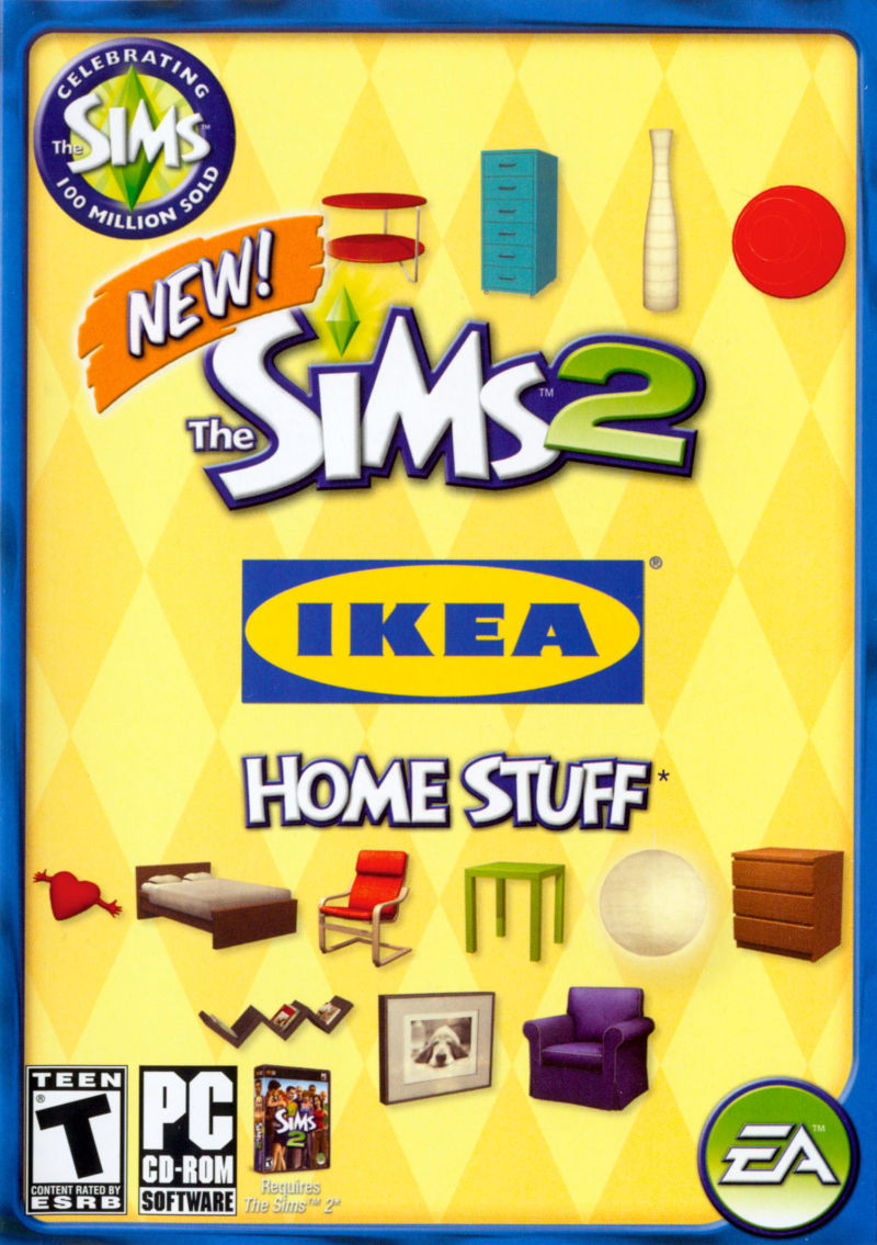 The Sims 2: IKEA Home Stuff Windows Front Cover