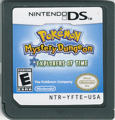 Pokémon Mystery Dungeon: Explorers of Time Nintendo DS Media