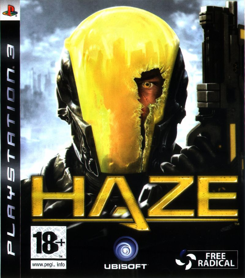 Haze PlayStation 3 Front Cover