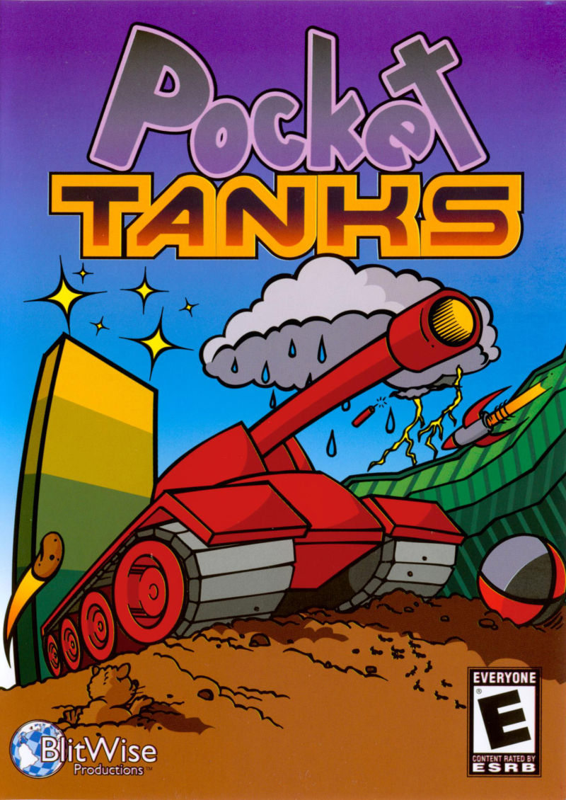Pocket Tanks Deluxe (Collector's Edition) Windows Front Cover