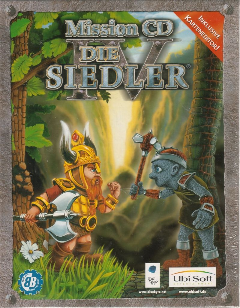 The Settlers IV Mission CD Windows Front Cover