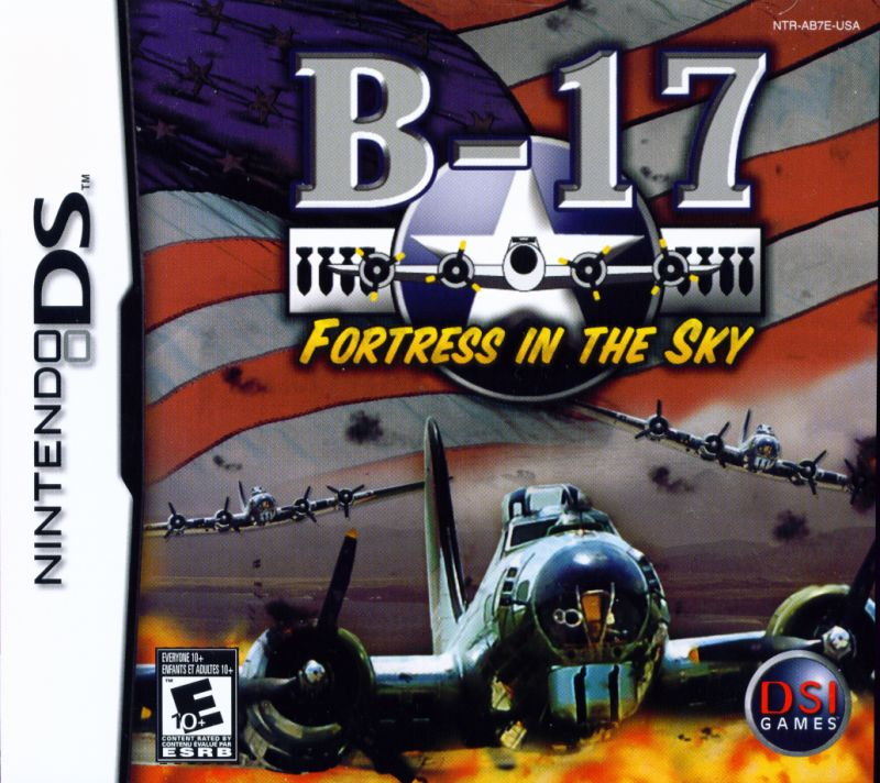 B-17: Fortress in the Sky Nintendo DS Front Cover