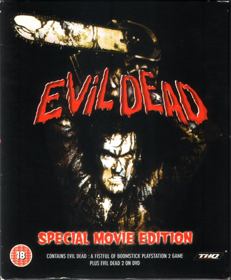 Evil Dead (Special Movie Edition) PlayStation 2 Front Cover