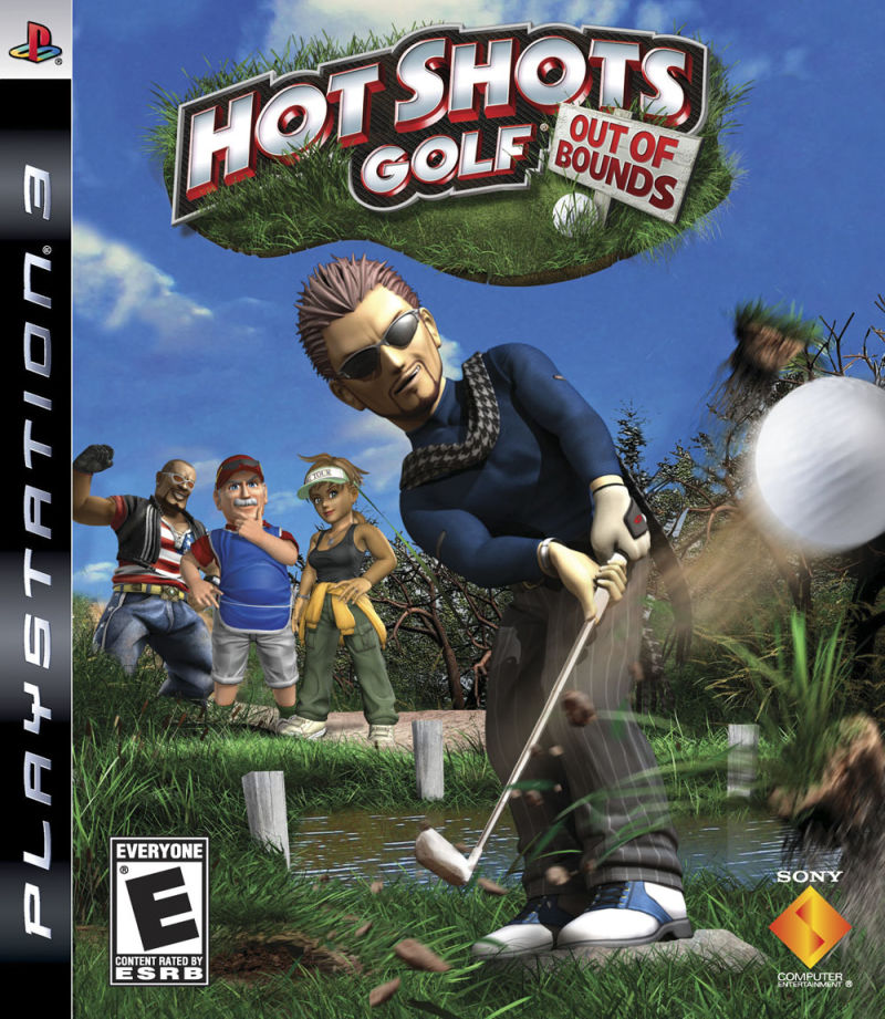 Hot Shots Golf: Out of Bounds PlayStation 3 Front Cover