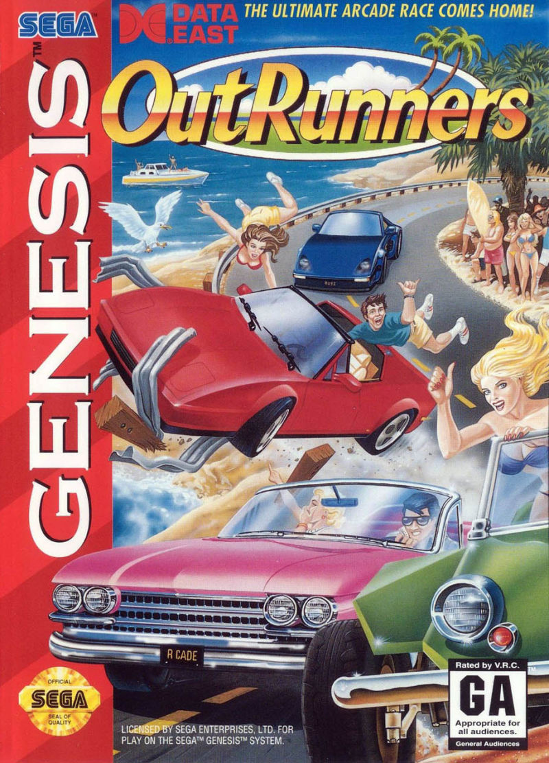 OutRunners Genesis Front Cover