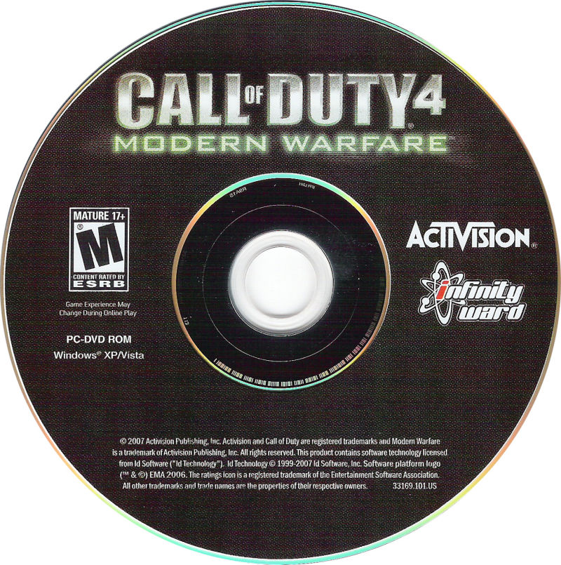 Call of Duty 4: Modern Warfare (Limited Collector's Edition) Windows Media